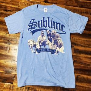 Sublime Band Tshirt Long Beach California - Small
